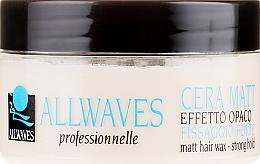 Voňavky, Parfémy, kozmetika Vosk na vlasy s matným efektom - Allwaves Matt Hair Wax