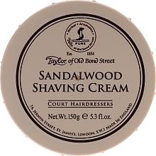 """Voňavky, Parfémy, kozmetika Krém na holenie """"Santalové drevo"""" - Taylor of Old Bond Street Sandalwood Shaving Cream Bowl"""