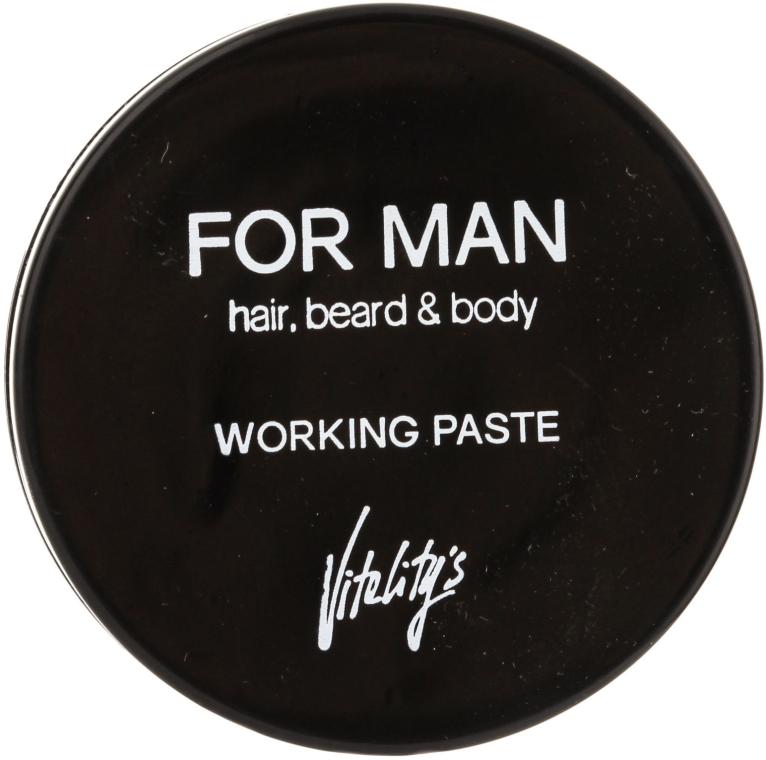 Matná vlasová pasta - Vitality's For Man Working Paste — Obrázky N1