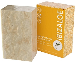 Voňavky, Parfémy, kozmetika Mydlo s olivovým olejom - Ibizaloe Aloe Vera Soap Olive Oil