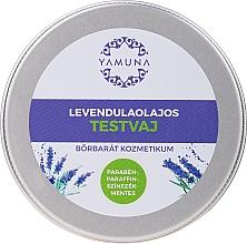 Voňavky, Parfémy, kozmetika Maslo na telo s levanduľovým olejom - Yamuna Lavender Oil Body Butter