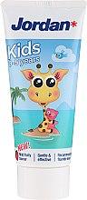 Voňavky, Parfémy, kozmetika Zubná pasta 0-5 rokov, žirafa - Jordan Kids Toothpaste