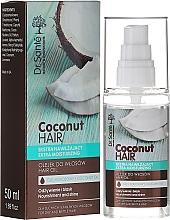 """Voňavky, Parfémy, kozmetika Olej na vlasy """"Výživa a lesk"""" - Dr. Sante Coconut Hair"""