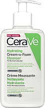 Voňavky, Parfémy, kozmetika Hydratačná krémová pena na umývanie - CeraVe Hydrating Cream To Foam Cleanser For Normal To Dry Skin