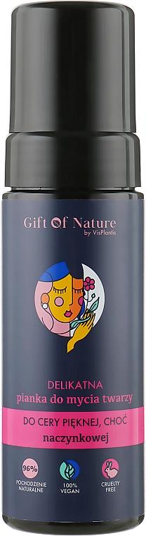 Pena na umývanie citlivej pokožky náchylnej na kuperózu - Vis Plantis Gift of Nature