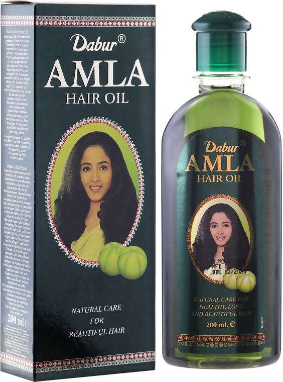 Olej na vlasy - Dabur Amla Hair Oil