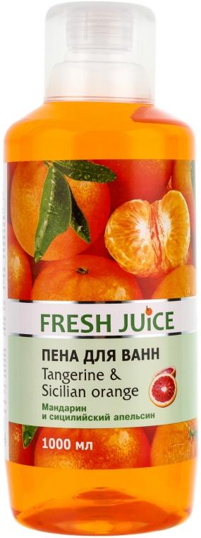 "Kúpeľová pena ""Mandarínka a sicílsky pomaranč"" - Fresh Juice Tangerine and Sicilian"