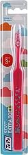 Voňavky, Parfémy, kozmetika Detská zubná kefka od 3 rokov, ružová - TePe Kids Extra Soft