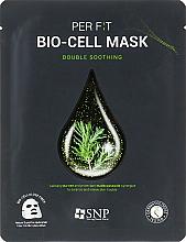 Voňavky, Parfémy, kozmetika Biocelulózová maska s čajovníkovým extraktom - SNP Double Synergy Soothing Bio-Cell Mask