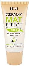 Voňavky, Parfémy, kozmetika Tónovací matujúci fluid - Hean Creamy Mat Effect