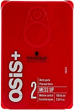 Voňavky, Parfémy, kozmetika Vosk na vlasy s matným efektom - Schwarzkopf Professional Osis+ Mess Up Matt Gum