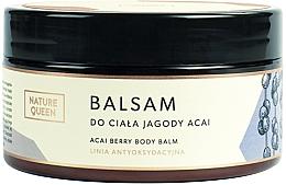"Voňavky, Parfémy, kozmetika Balzam na telo ""Acai bobule"" - Nature Queen Body Balm"