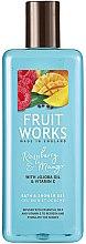 """Voňavky, Parfémy, kozmetika Sprchový gél """"Malina a mango"""" - Grace Cole Fruit Works Raspberry & Mango"""