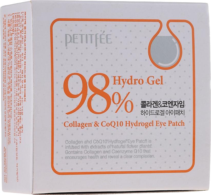 Hydrogélové náplasti na oči s kolagénom a koenzýmom - Petitfee & Koelf Collagen & Co Q10 Hydrogel Eye Patch