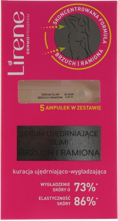 Spevňujúce sérum pre brucho a ruky - Lirene Slim Firming Serum Belly And Arms