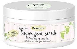 Voňavky, Parfémy, kozmetika Cukorový peeling na nohy so zeleným čajom - Nacomi Sugar Foot Peeling
