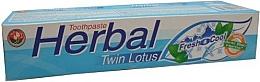 Voňavky, Parfémy, kozmetika Bylinná zubná pasta - Twin Lotus Fresh & Cool