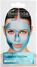 Voňavky, Parfémy, kozmetika Maska s obsahom kovu pre suchú a citlivú pleť - Bielenda Blue Detox
