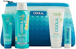 Voňavky, Parfémy, kozmetika Sada - Coola Classic Travel Kit(spray/60ml+f/cr/25ml+balm/4,2g+lotion/60ml)