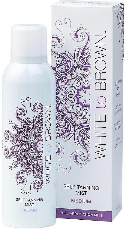 Samoopaľovací sprej - White To Brown Self Tanning Mist Medium — Obrázky N1