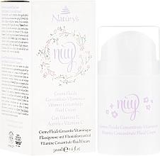 Voňavky, Parfémy, kozmetika Tekutý krém na tvár s vitamínmi - Bema Cosmetici Naturys Nuy Vitamin Concentrate Fluid Cream