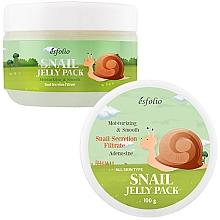Voňavky, Parfémy, kozmetika Napínacia maska s filtratom slimáka - Esfolio Snail Shape Memory Jelly Pack