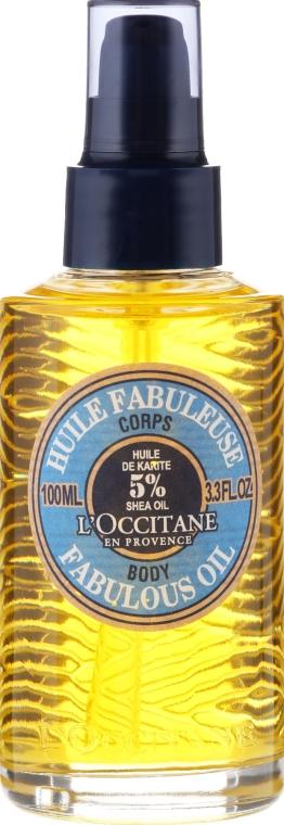 Telový olej - L'occitane Shea Butter Fabulous Oil — Obrázky N1