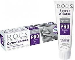 Voňavky, Parfémy, kozmetika Zubná pasta na elektrické kefky - R.O.C.S. Pro Electro & Whitening Mild Mint