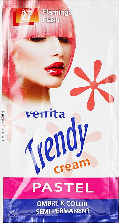 Farbiaci krémový toner - Venita Trendy Color Cream (vrecko)