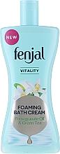 """Voňavky, Parfémy, kozmetika Sprchový krémový gél """"Olej z granátového jablka a zelený čaj"""" - Fenjal Vitality Pomegranate Oil & Green Tea Foaming Bath Cream"""