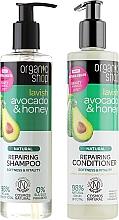 Voňavky, Parfémy, kozmetika Sada na regeneráciu vlasov - Organic Shop (h/shm/280ml + h/cond/280ml)