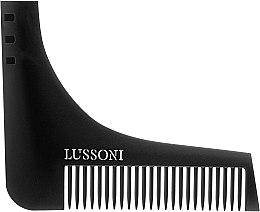 Voňavky, Parfémy, kozmetika Kefa na bradu - Lussoni BC 600 Barber Comb