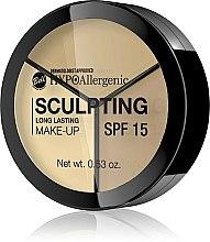 Voňavky, Parfémy, kozmetika Hypoalergénny fluid - Bell HypoAllergenic Long Lasting Sculpting Make-Up
