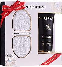 Voňavky, Parfémy, kozmetika Sada - Baylis & Harding Sweet Mandarin & Grapefruit Foot Set (f/cream/125ml + socks)