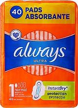 Voňavky, Parfémy, kozmetika Hygienické vložky, 40 ks - Always Ultra Normal Plus