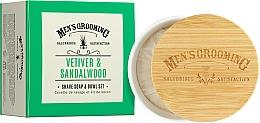 "Voňavky, Parfémy, kozmetika Mydlo na holenie ""Vetiver a santalové drevo"" - Scottish Fine Soaps Vetiver & Sandalwood Shaving Soap"