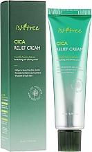 Voňavky, Parfémy, kozmetika Upokojujúci krém na tvár - IsNtree Cica Relief Cream