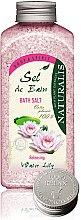 Voňavky, Parfémy, kozmetika Soľ do kúpeľa - Naturalis Sel de Bain Water Lily Bath Salt