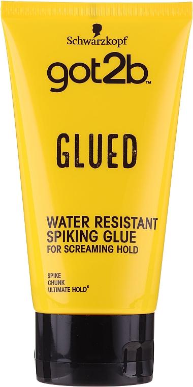 Lepidlo na vlasy - Schwarzkopf Got2b Glued Spiking Glue