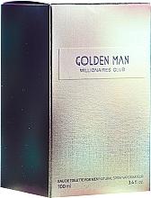 Voňavky, Parfémy, kozmetika Vittorio Bellucci Golden Man - Toaletná voda