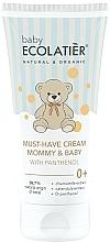 Voňavky, Parfémy, kozmetika Univerzálny krém pre mamičku a dieťa s D-panthenolom - Ecolatier Baby