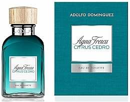 Voňavky, Parfémy, kozmetika Adolfo Dominguez Agua Fresca Citrus Cedro - Toaletná voda