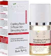 Voňavky, Parfémy, kozmetika Dvojfázové stimulačné sérum - Bielenda Professional Capilary Repair 2-Phase Skin Stimulating Serum