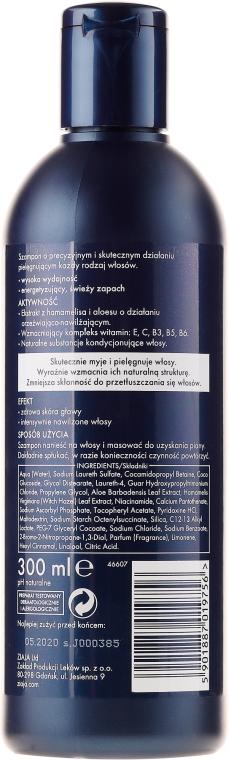 Intenzívne hydratačný šampón pre mužov - Ziaja Yego Shampoo for Men — Obrázky N2