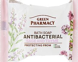 Voňavky, Parfémy, kozmetika Antibakteriálne mydlo na ruky zo šalvie a tymiánu - Green Pharmacy