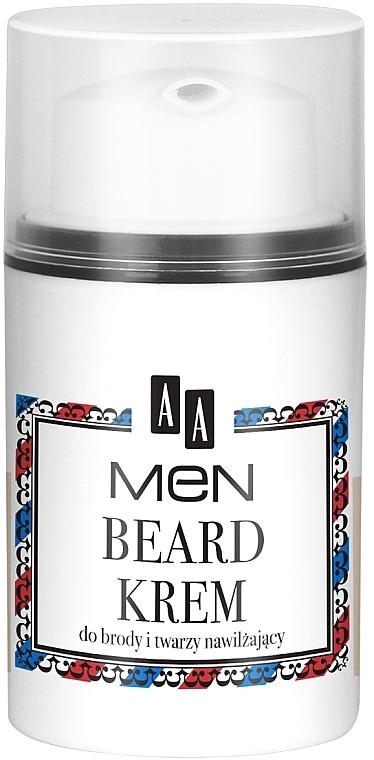 Krém na bradu a tvár - AA Men Beard Face Cream