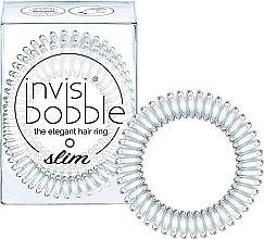 Voňavky, Parfémy, kozmetika Gumička na vlasy - Invisibobble Slim Crystal Clear