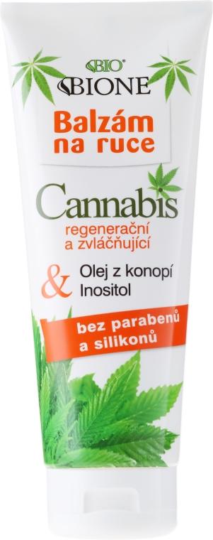 Balzam na ruky - Bione Cosmetics Cannabis Hand Balm