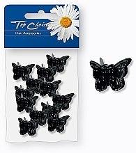 Voňavky, Parfémy, kozmetika Sponky do vlasov, 25365, čierne motýle - Top Choice