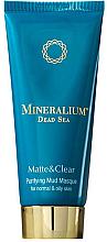 Voňavky, Parfémy, kozmetika Čistiaca bahenná maska pre normálnu a mastnú pleť - Minerallium Purifying Mud Masqu